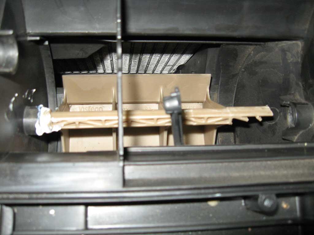 Ситроен с5 ремонт печки