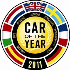Выбран автомобиль 2011 года в Европе