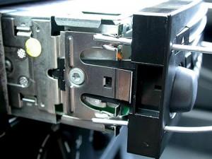 снятие магнитолы Blaupunkt RD4