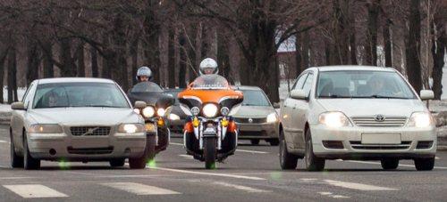 мотоциклист участник движения