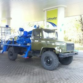 автовышка на базе ГАЗ-33081 Садко
