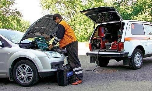 услуга «техпомощь на дороге»