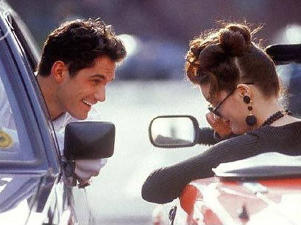 водитель мужчина и женщина
