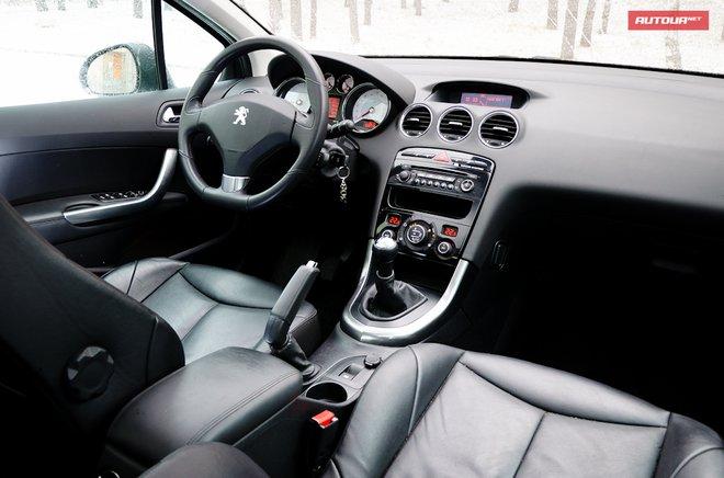 Ошибки и сообщения бортового компьютера у Peugeot 308