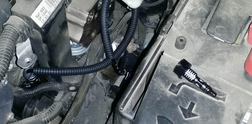Замена датчика температуры на Пежо 308