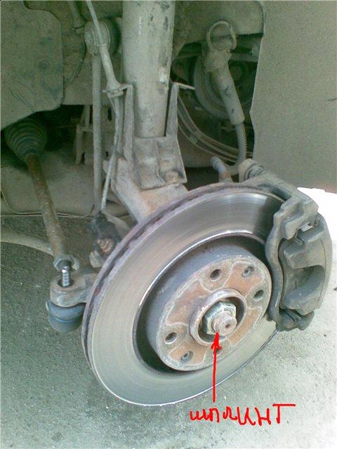 Замена переднего ступичного подшипника на Peugeot 206