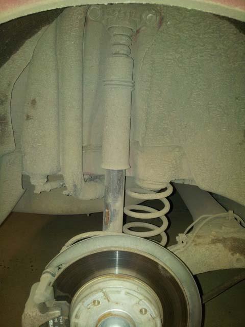 Замена задних амортизаторов на пежо 308