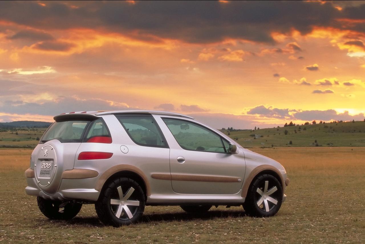 Фото концепта Peugeot 206 Escapade на PSA-Perm.ru