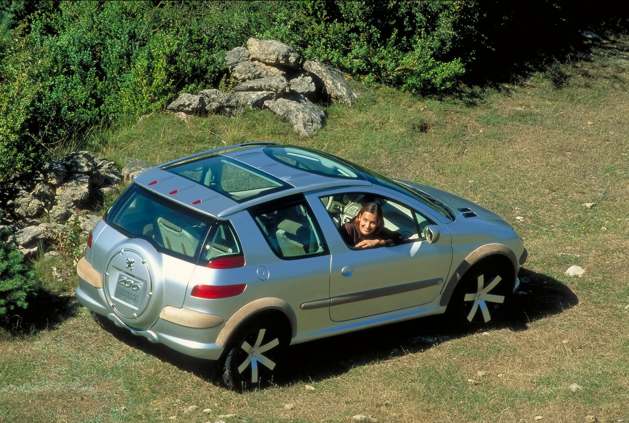 Концепт Peugeot-206-Escapade на psa-perm.ru