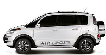 Citroen Aircross из Бразилии