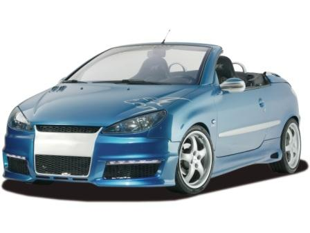 Аэродинамический комплект для Peugeot 206 и 206CC