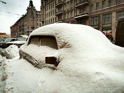 запуск машины в мороз