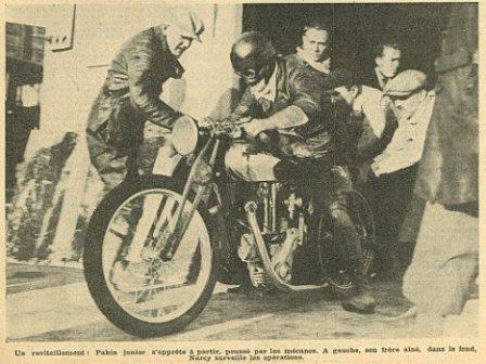 мотоцикл peugeot 515