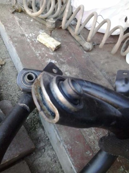 Пежо 406 ремонт задней подвески