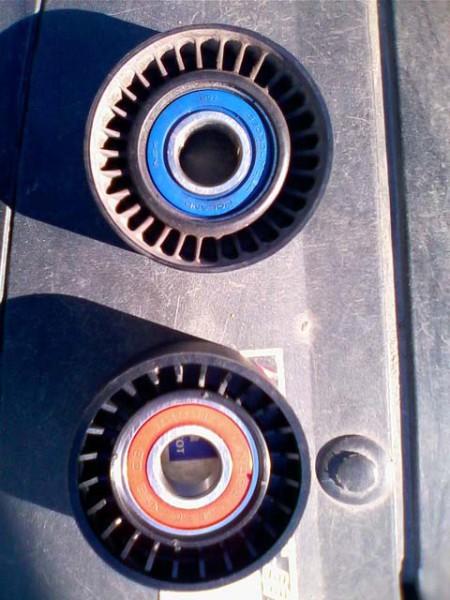 Замена ремня генератора Пежо 307