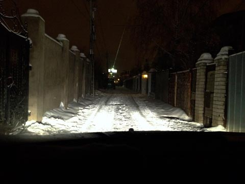 Замена ламп ближнего света Пежо 308