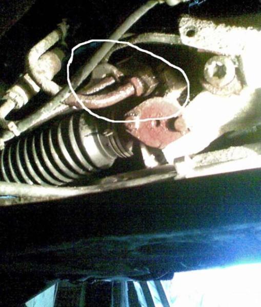 ремонт рулевой рейки пежо