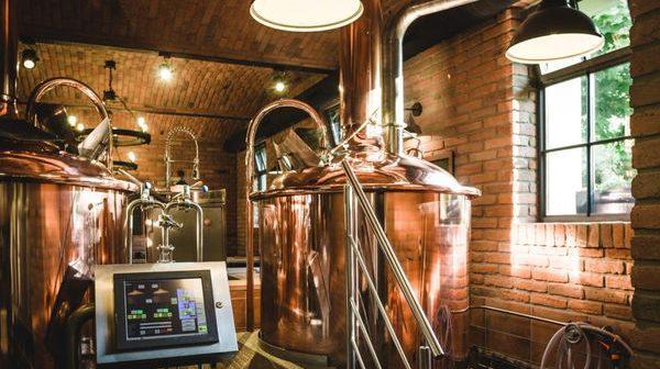 Цилиндро-конический танк для домашнего пивоварения