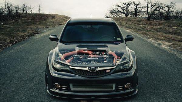 Ремонт двигателя автомобиля Subaru